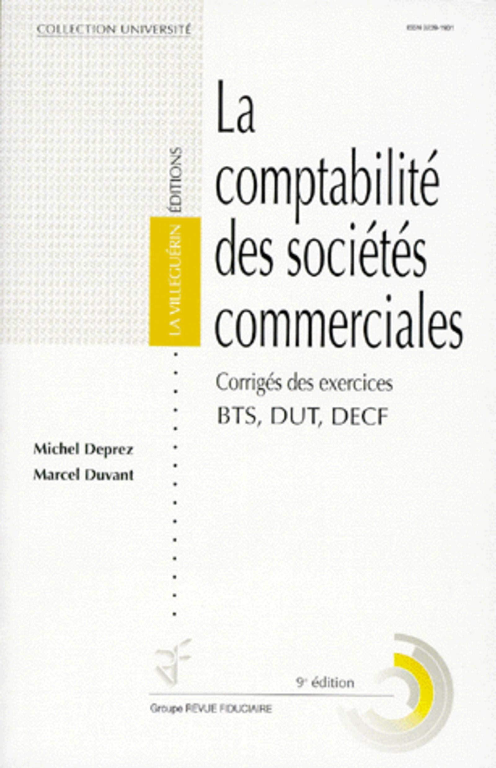 Amazon Fr La Comptabilite Des Societes Commerciales