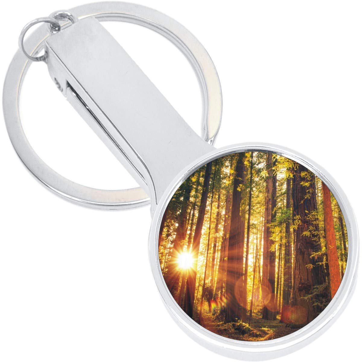 Glorious Nature Purse Hanger with Keychain