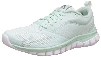 33b9db8b593f Image Unavailable. Image not available for. Colour  Reebok Women s Sublite  Authentic 4.0 Mist and White ...