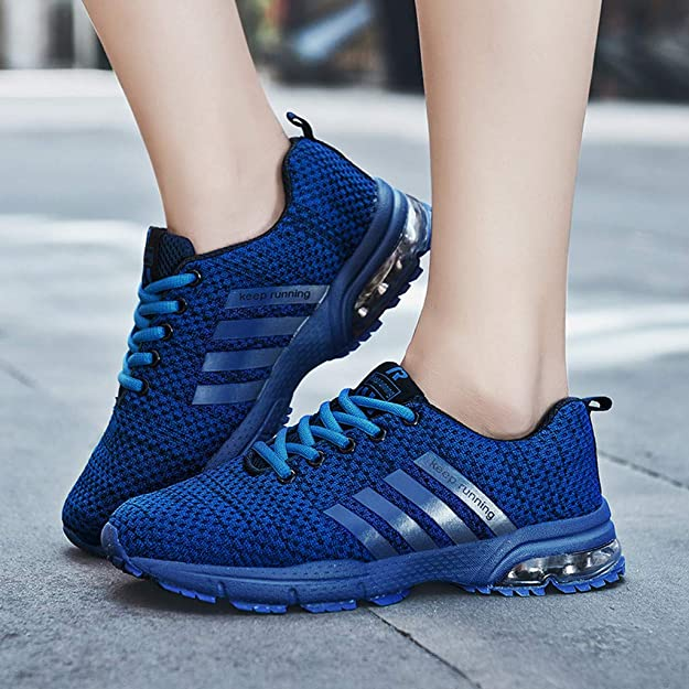 Gillberry Womens Sneakers Breathable Sport Running Soft Mesh-Comfort Shoes