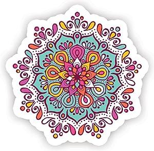 Mandala #1 - Laptop Stickers - 2.5