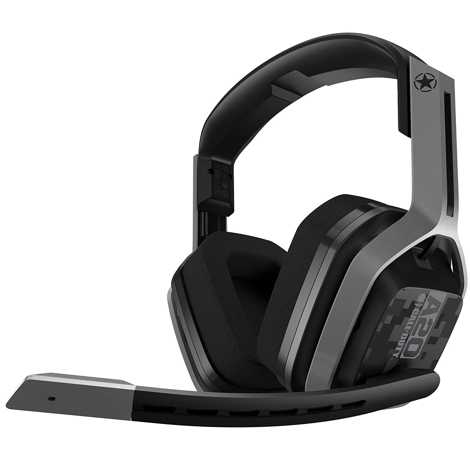 ASTRO Gaming A20 - Auriculares con micrófono inalámbricos Call of Duty Edition, compatibles con Xbox One, PC, Mac, Plata/Negro: Amazon.es: Electrónica