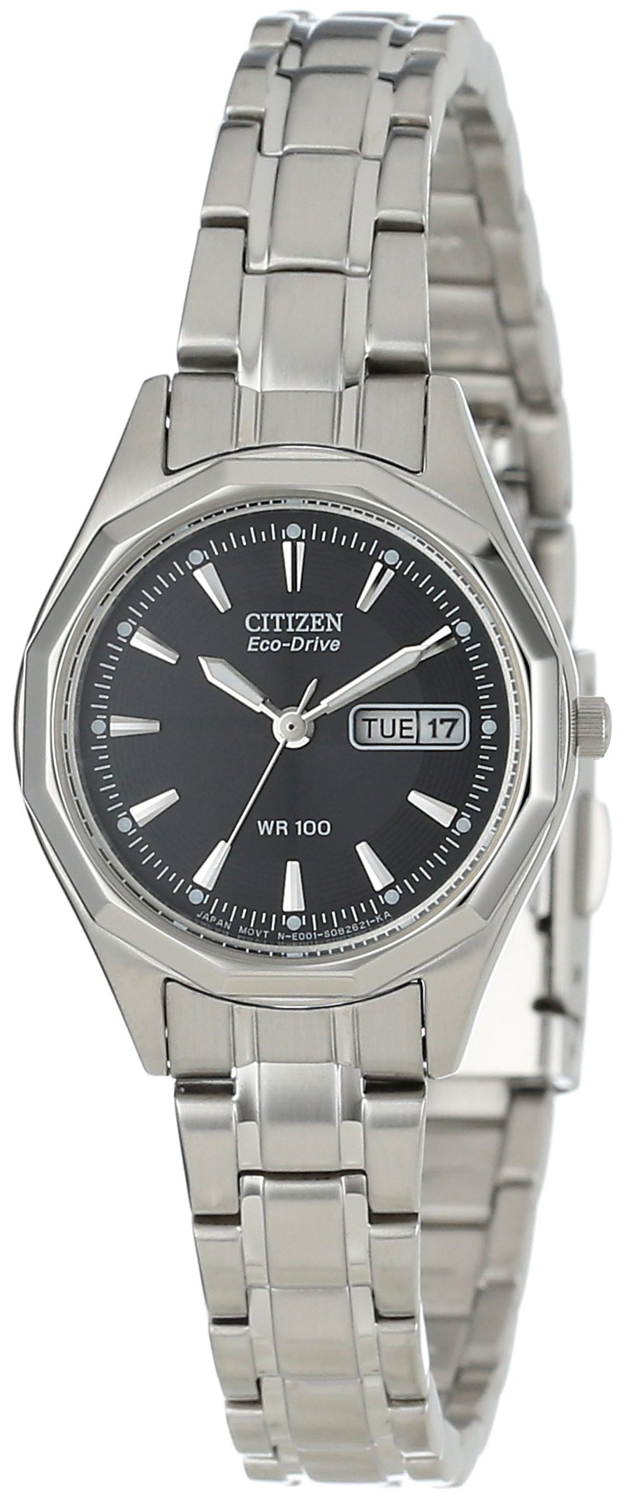 Citizen Women's EW3140-51E Eco-Drive Stainless Steel Sport Watch