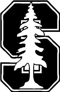 TDT Printing & Custom Decals Stanford University Vinyl Decal Sticker for Car or Truck Windows, Laptops etc.