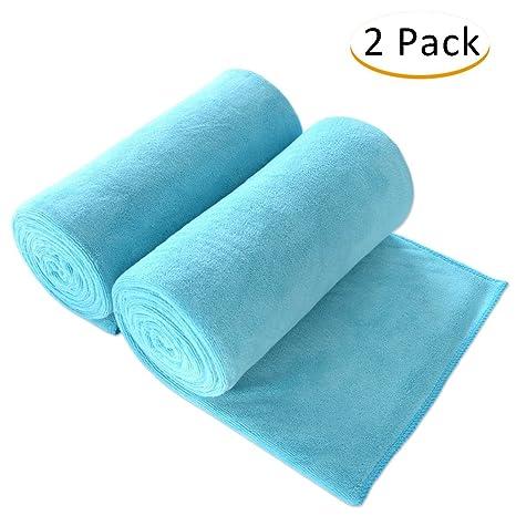 Sin marca blanco 100% algodón toalla de baño toalla de Super absorbente suave (28
