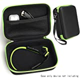 CaseSack Bone Conduction Headphones Case for Aftershokz AS600 Trekz (SG/OB/IG/SG), Bluez 2, 2S AS500 (S/SM/SR/SN), AS451XB; KSCAT, Sades, DIGICare, allmity, Yaklee, Abco Tech, LQING, longee, HYON