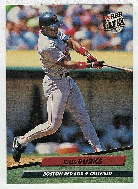 Amazoncom Ellis Burks Baseball Card 1992 Fleer Ultra