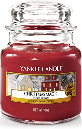 Yankee Candle Candela Giara Piccola Christmas Eve