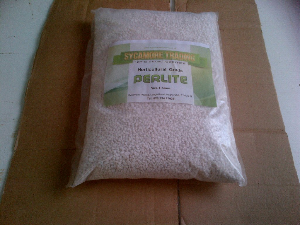 Sycamore Trading HORTICULTURAL PERLITE x 10 litres