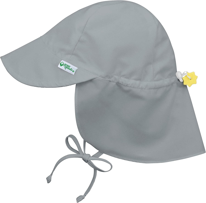 Green Sprouts Sombrero con solapa con protección solar, 2-4 años ...