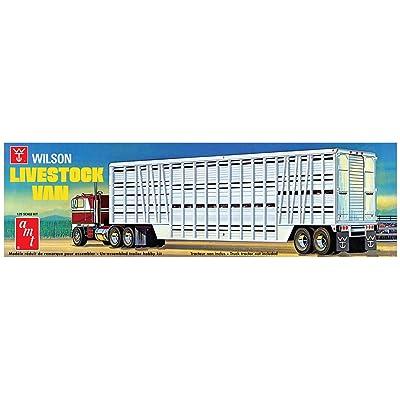 AMT 1 25 Wilson Livestock Van Trailer, AMT1106: Toys & Games