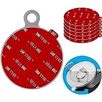 Anteel Dashboard Pad Montage Disk Sticky Adhesive Vervanging Kit, 6 stks 80mm Cirkel Hittebestendige Dubbelzijdige…