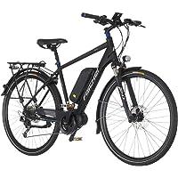 FISCHER FAHRRAEDER E-Bike Trekking Herren ETH1607, 28 Zoll, 9 Gang, Mittelmotor, 504 Wh 71,12 cm (28 Zoll)
