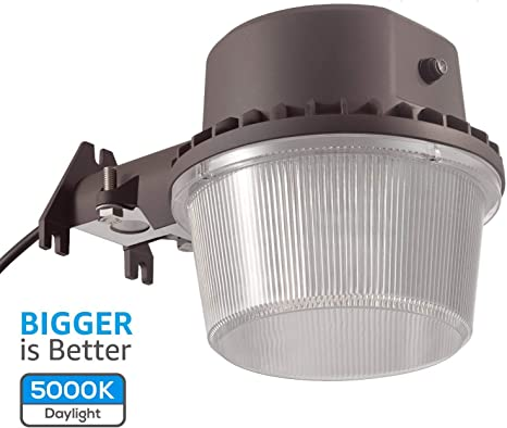 5000K Dusk-to-dawn LED Outdoor Barn Light Photocell Included 35W 250W Equiv.