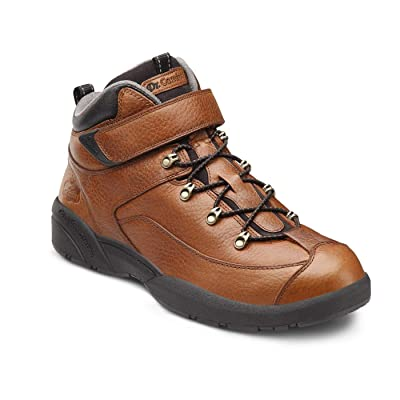 Dr. Comfort Ranger Men's Therapeutic Diabetic Extra Depth Hiking Boot: Chestnut 9.5 Medium (B/D) Lace | Hiking Boots