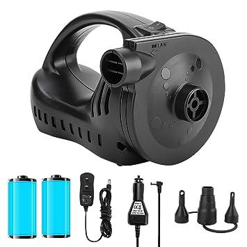 Amazon.com: OlarHike - Bomba de aire eléctrica portátil de ...