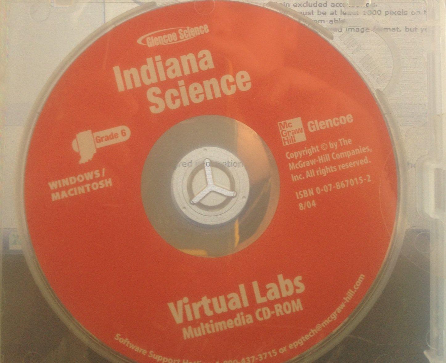 Glencoe Science Indiana Science Grade 6 Virtual Labs