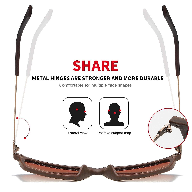 LEIMI 2019 New Rectangular Polarized Sunglasses Vintage Sun Glasses For Men 8823