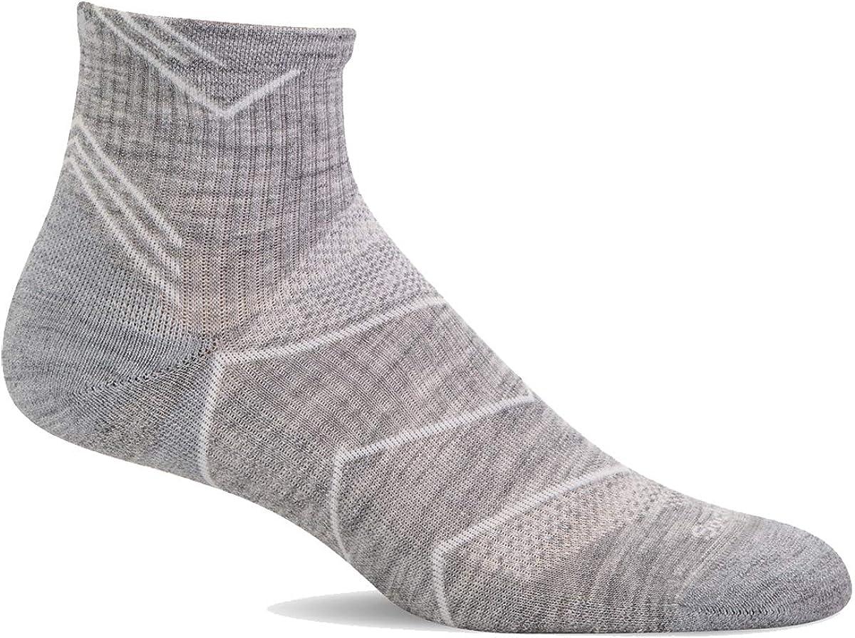 Sockwell Women/'s Incline Quarter Moderate Graduated Compression Socks