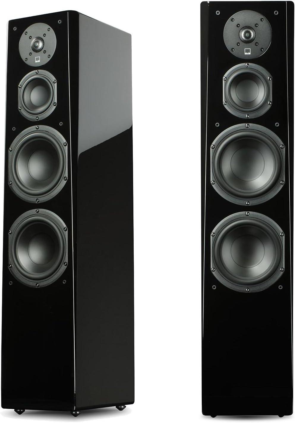 1. SVS Prime Tower Speaker (Piano Gloss Pair)