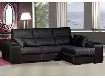 Miraculous Sofa Chaise Longue Measures 275 Cm Upholstered Imitation Ibusinesslaw Wood Chair Design Ideas Ibusinesslaworg