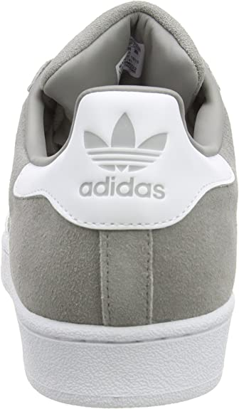 adidas Herren Superstar Suede Low Top, Grau Ch Solid Grey