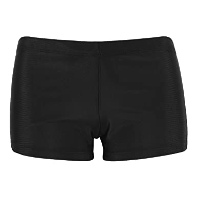 7c1be7813e67da TiaoBug Shorts de Bain Femme Bas de Maillot Boxer Bikini Slip ...