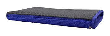 Mikrofaser Waschhandschuh mit Reinigungs Knete Medium Polier Tuch Lack Reinigung