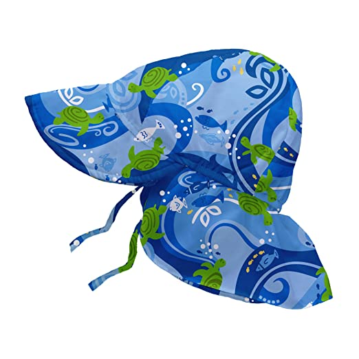 42ebc39f347 Amazon.com  i play. Baby Boys  Flap Sun Protection Hat