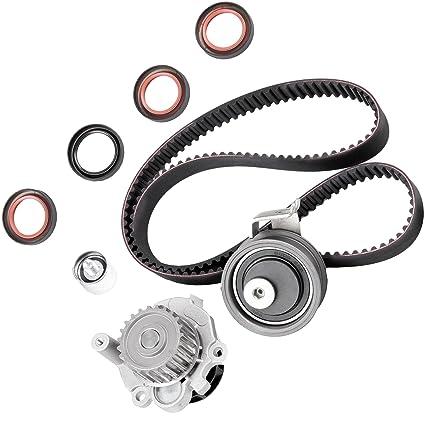 Amazon.com: SCITOO Fits 2001-2006 Volkswagen Golf GTI Beetle Jetta Audi A4 TT Quattro 1.8L DOHC L4 20 Valve Timing Belt Water Pump Kit: Automotive
