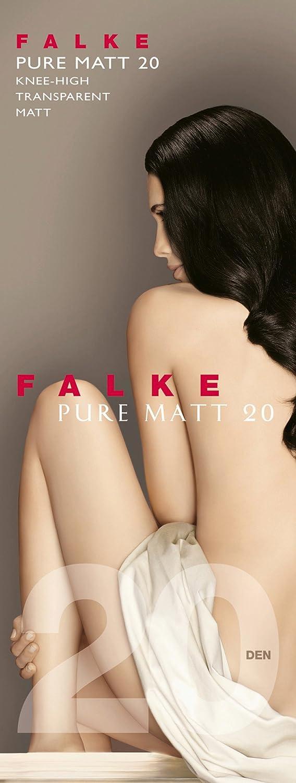 Taille fabricant: 39-42 Anthracite 3529 FALKE Pure Matt 20 Chaussettes montantes Femme 20 DEN Gris 39//42