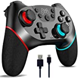 [2020 Upgraded Version] CuleedTec Wireless Switch Controller, Switch Pro Controller Gampad Joypad for Nintendo Switch…