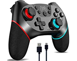 [2022 Upgraded Version] CuleedTec Wireless Switch Controller, Switch Pro Controller Gamepad Joypad Compatible with Switch/Swi