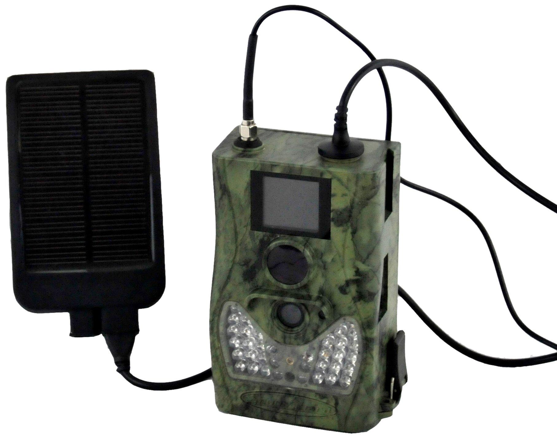 ScoutGuard 8G SG580M-8M GPRS MMS Hunting Trail Camera Plus 6V Solar Battery Metal Box by ScoutGuard