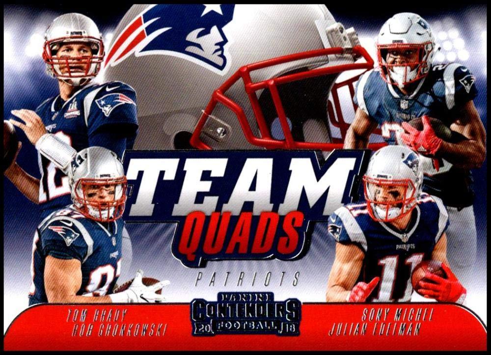 Amazon Com 2018 Contenders Team Quads Football Tq 1 Julian