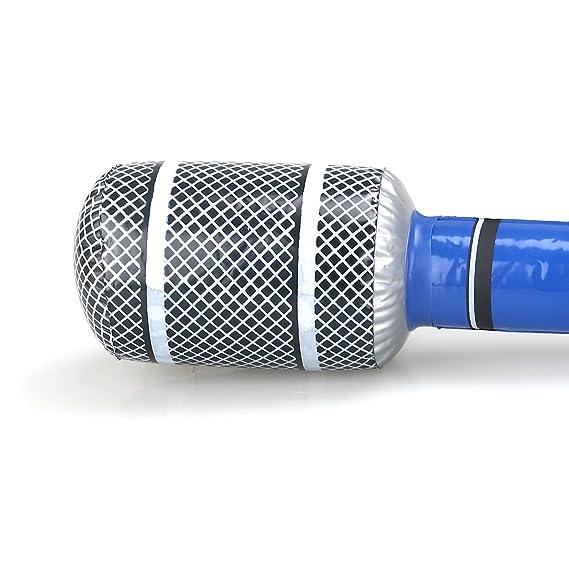 Toyvian Favor de Partido Inflable del micrófono los 24CM ...