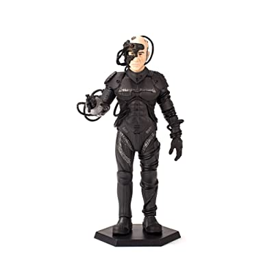 QMx Star Trek TNG Locutus of Borg Mini Master Latinum Edition Figure: Toys & Games