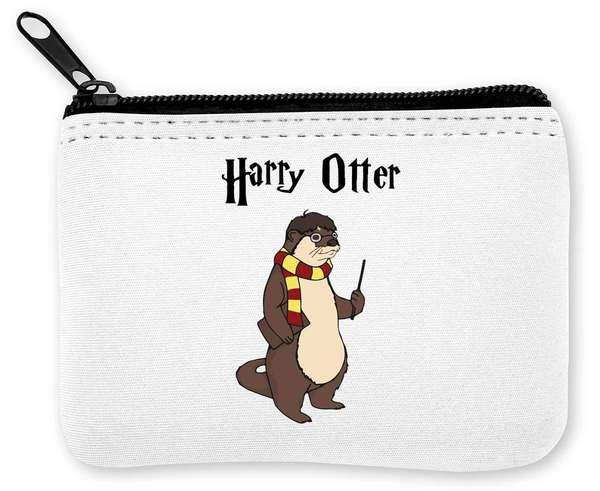 Harry Otter Funny Monedero de la Cremallera de la Moneda ...