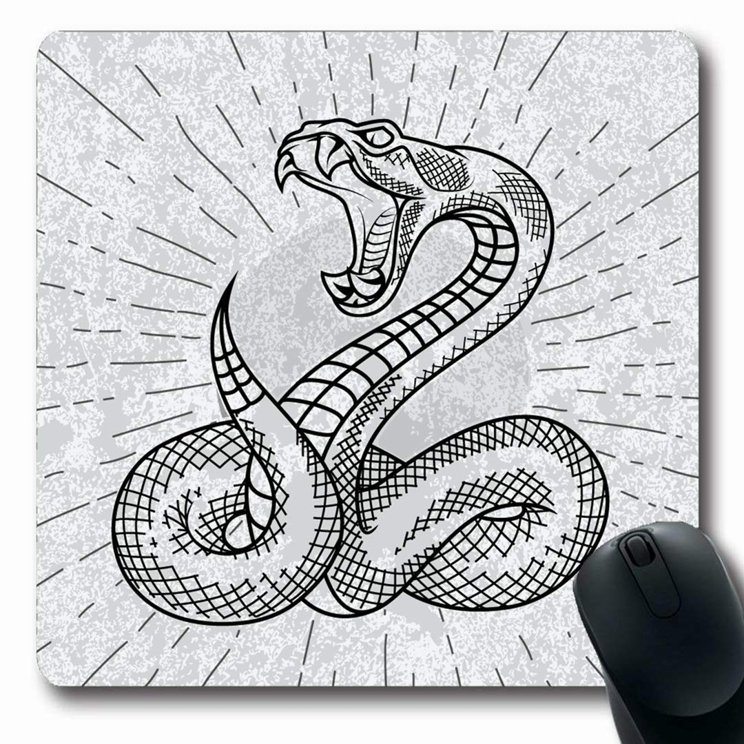 Alfombrillas Peligro Serpiente de cascabel Víbora Serpiente ...
