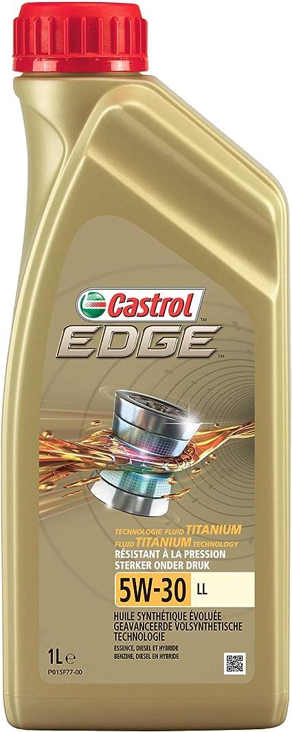 Castrol - Edge 5W-30 LL- Aceite de Motor: Amazon.es: Coche y moto