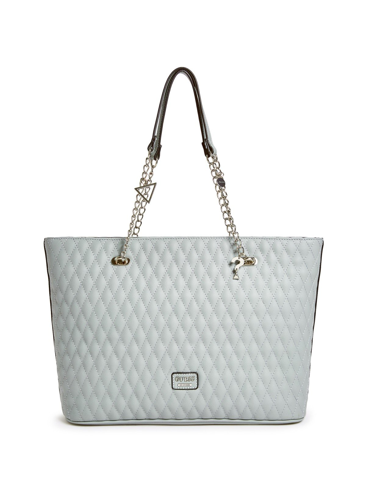 GUESS Factory Women's Larson Quilted Top Chain Handle Tote