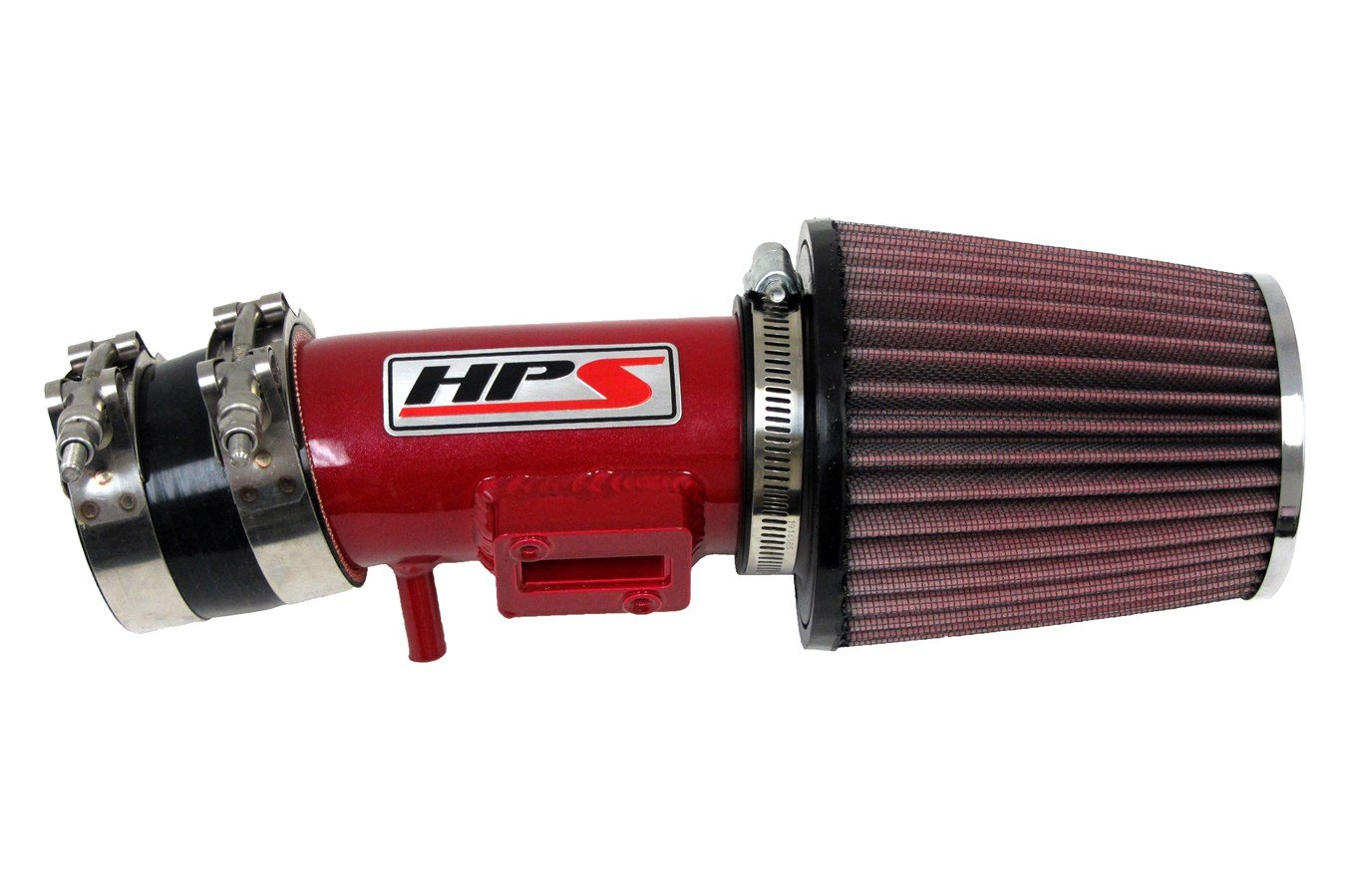 Non-CARB Compliant HPS Silicone Hoses HPS 27-102BL Blue Short Ram Air Intake Kit
