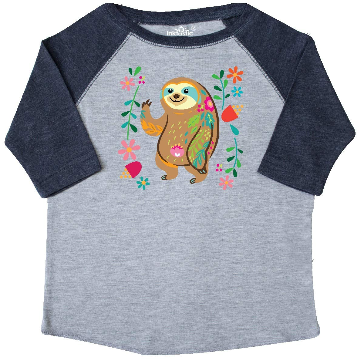inktastic Sloth Cute Outfit for Girls Toddler T-Shirt