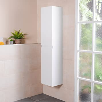 Amazon.de: Designer Badezimmer Bad Möbel 1600mm hoher Wand Schrank ...