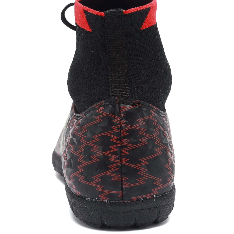 Amazon.com   ANLUKE Mens Hightop Training Soccer Shoes TF Football Boots   Soccer