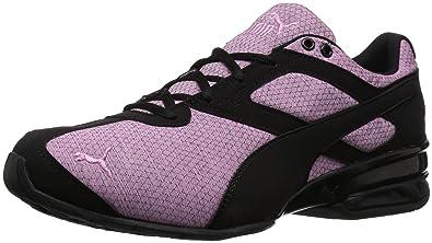 8a49c889b3ef PUMA Unisex Tazon 6 Heather Rip Kids Sneaker, Orchid Black, 1.5 M US Little