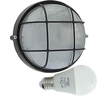 Berste - Lámpara de pared LED 10 W - E27 - Aluminio - Lámpara de ...