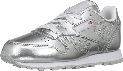 Classic Leather Metallic Sneaker