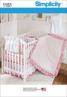 product image for Simplicity Patterns US1151OS Nursery Accessories, OS (ONE Size)