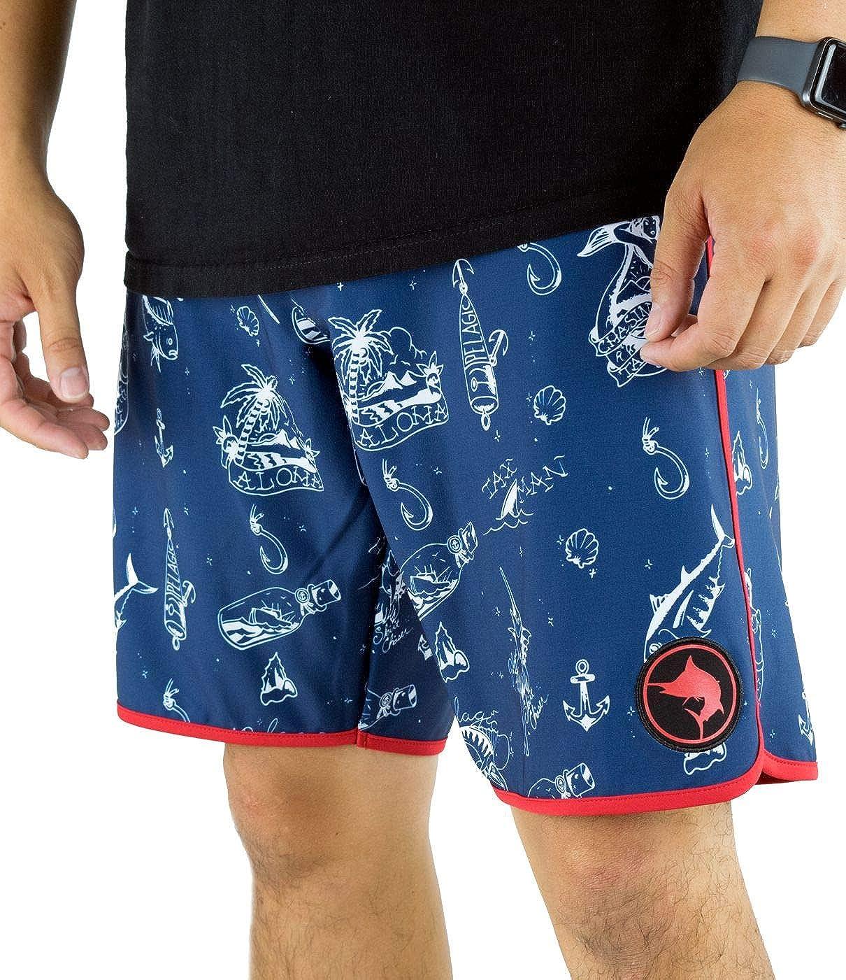 2f261e7c79 Pelagic Men's Wedge Skirt Chaser Boardshort | 20